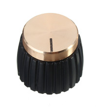 Amplificador de guitarra AMP perillas negro w/oro Push-on Knob encaja Marshall Control de velocidad perillas para acústica gota guitarra