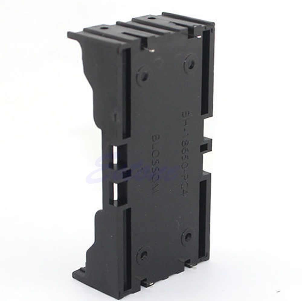 Cassa di Batteria di plastica Del Supporto della Scatola Per 18650 Batteria Ricaricabile 3.7 V DIY-M28