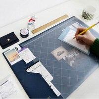 2017 2018 Calendar Korea Kawaii Candy Color Office Desktop Table Mat Multifunction Weekly Planner Organizer Holder