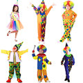 Trajes de Halloween Crianças Traje Do Palhaço de Circo Impertinente Arlequim Fantasia Fantasia Infantil Cosplay Roupas para Meninos Meninas