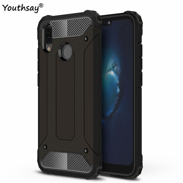 huge discount 55737 3c108 US $2.64 38% OFF|Huawei P20 Lite Case Huawey P 20 Lite Case Armor Rubber  Silicone Phone Case For Huawei P20 Lite Shell For Huawei P20 Lite Cover-in  ...