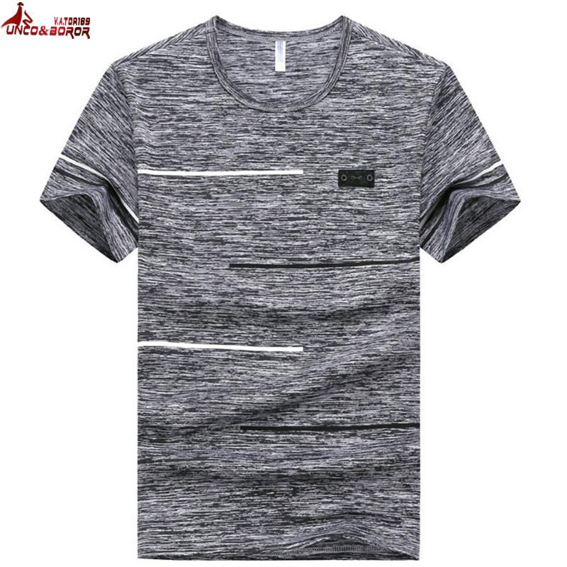 Plus size 7XL 8XL 9XL Summer Men`s gyms Fitness   t     shirt   Crossfit Bodybuilding Casual Male funny quick drying Tops&Tees men