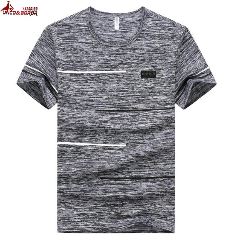 Summer Men's T Shirt Plus Size 7XL 8XL 9XL Gym Bodybuilding Man Tshirt Fitness Casual For Streetwear Harajuku Men T-shirt