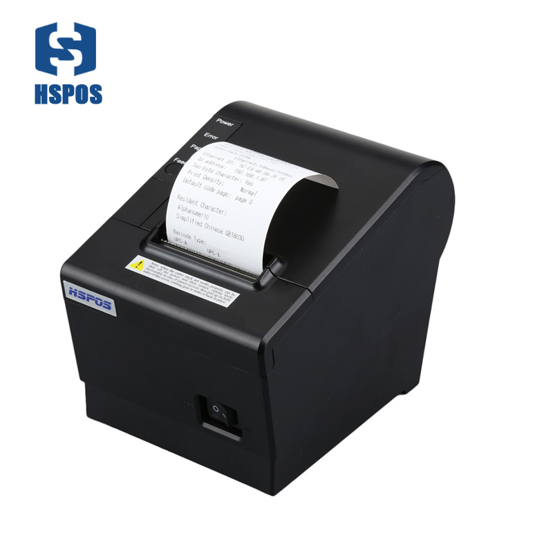 Cheap free shipping 58mm thermal pos printer with auto cutter mini receipt ticket printer usb port support windows Ubuntu system serial port best price 80mm desktop direct thermal printer for bill ticket receipt ocpp 802