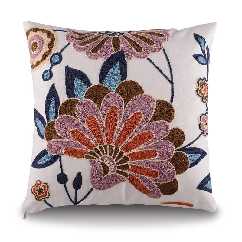 Aliexpress Com Buy 2016 Top Finel Modern Striped Faux: Aliexpress.com : Buy Top Finel 2016 Embroidered Cushions