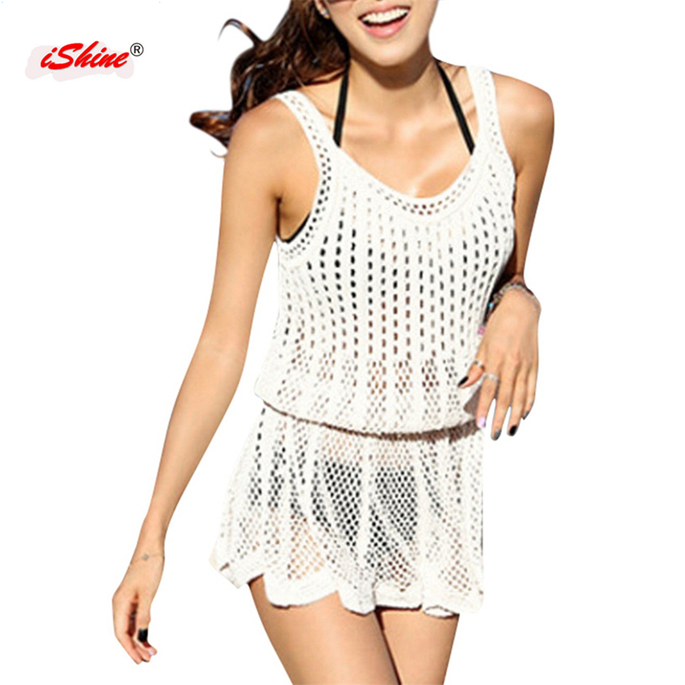 Aliexpress buy pareo beach cover up cotton knitted women aliexpress buy pareo beach cover up cotton knitted women dress crochet hollow cover ups for bikini bathing suit swimwear tunics for beach plage from bankloansurffo Images