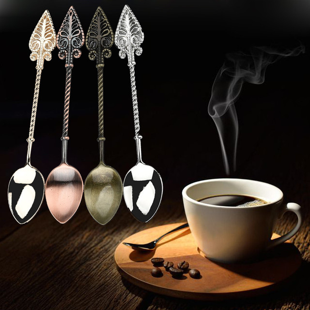Retro Arrow Shaped Tea Spoon