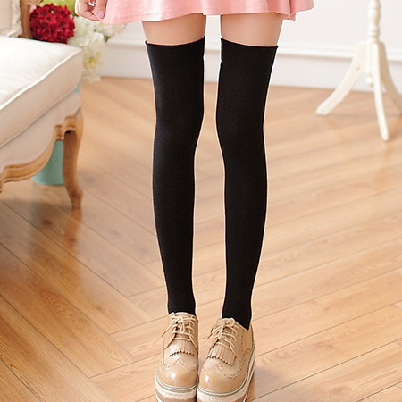 80Pair New Fashion Women's Stockings Sexy Warm Thigh High Over The Knee Socks Long Cotton Stockings For Girls Ladies Accessories