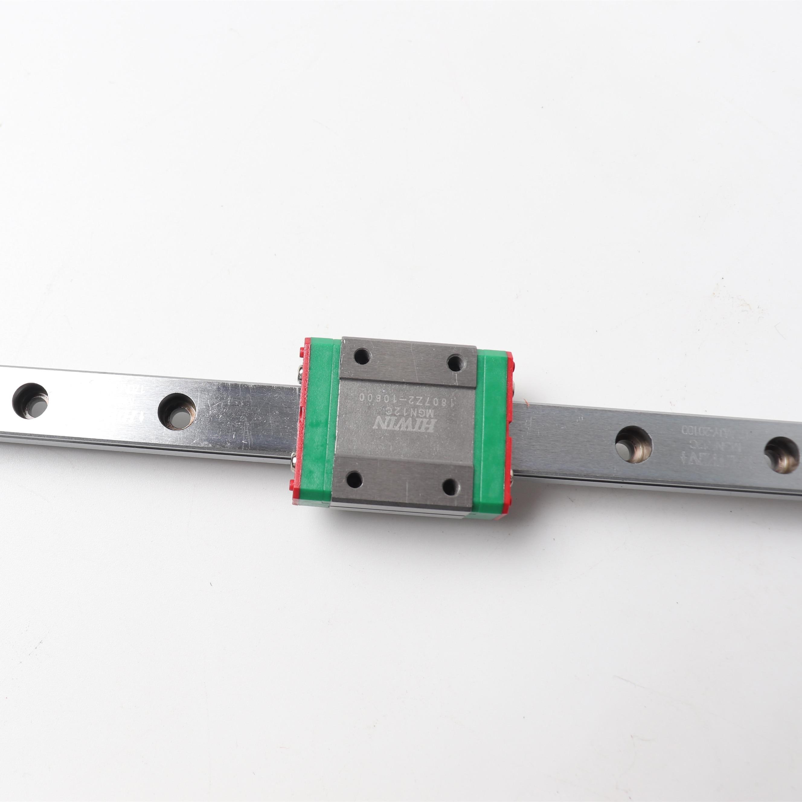 Original Hiwin MGN12H wagen + 400mm L MGNR12C linear schienen 5 stücke für BLV MGN Cube 3d drucker Hiwin MGN12H schiene