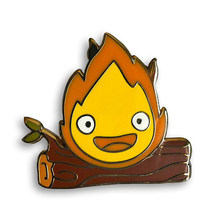 Calcifer Menderu Moving Castle Hadiah Enamel Pin(China)