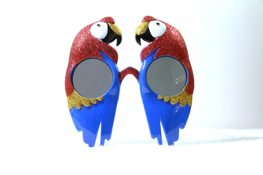 Loro del partido decoración del partido de halloween divertido gafas de pc gafas