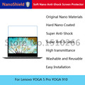 Nanoshield suave nano protector de pantalla anti-choque película protectora del teléfono móvil para lenovo yoga 5 pro yoga 910 empaquetado al por menor