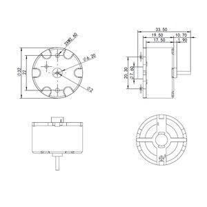 Image 5 - LIDAR มอเตอร์สำหรับ Neato XV 25 XV 21 XV 11 XV 12 XV 14 XV proXV 15 Botvac 65 70e 80 D80 D85 เครื่องดูดฝุ่นอุปกรณ์เสริม