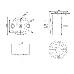 Image 5 - يدار المحرك مع كابل ل Neato XV 25 XV 21 XV 11 XV 12 XV 14 XV proXV 15 Botvac 65 70e 80 D80 D85 فراغ نظافة اكسسوارات