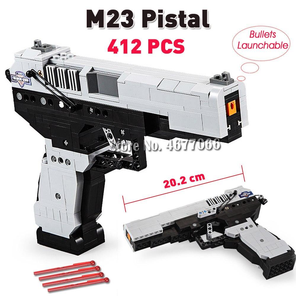M23 Gun - 412 PCS