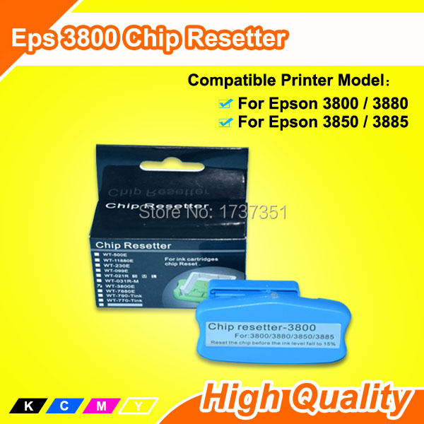 Cartridge Chip and Maintenance Tank Chip Resetter For Epson 3885 Chip Resetter cs dx18 universal chip resetter for samsung for xerox for sharp toner cartridge chip and drum chip no software limitation