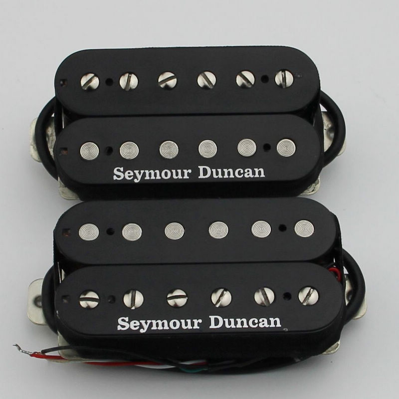 SEYMOUR DUNCAN Neck And Bridge Humbucker Pickup Black
