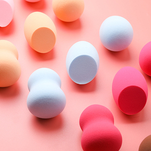 Image 5 - 3 個ブラケット化粧パフでパウダーパフソフト女性の化粧品を構成するファンデーションスポンジ美容ツールアクセサリー