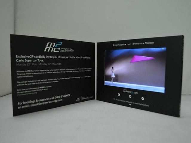 5 Pollice Schermo Digitale Lettore Video Lcd Biglietto Di Auguri