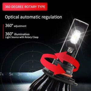 Image 4 - Super helle scheinwerfer H4 led h7 9005 HB3 D2S D2C Hallo Lo Strahl auto lampada scheinwerfer csp chip h7 led auto licht birne 12V 6000k 100W