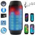 Mini PULSO Sem Fio Bluetooth Speaker com LED Light Show para a Festa de Música com FM