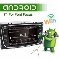 Android 6 0 Car DVD Player 2 Din 7 Inch For FORD Mondeo S MAX Connect