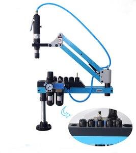 Image 2 - Pneumatische Tapping Machine Tikken Capaciteit M3 M12 Rocker Tikken Machine Universele Draad Tikken Machine Frame 400 Rpm 1 Pc