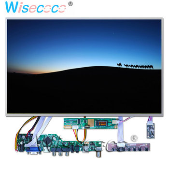 "B154EW02 V2 15.4"" TFT LCD Display 1280 * 800 60Hz HDMI AV VGA USB LVDS TV Speaker Headphones Audio Output Input Interface Driver"