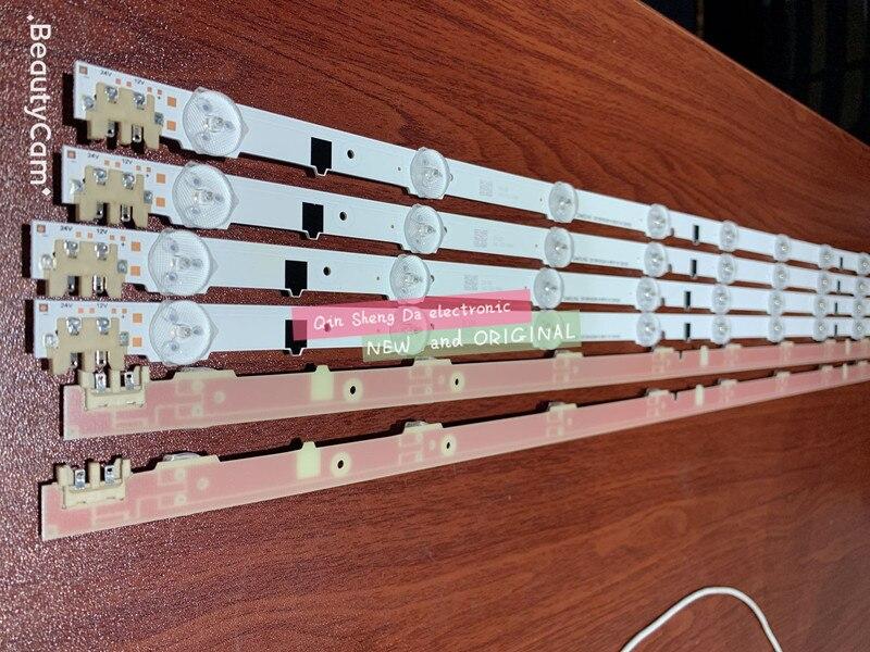 30pcs 9LED New LED strip D2GE 320SC0 R3 2013SVS32H 650mm for samsung UA32F4088AR UE32F5000 BN96 25300A