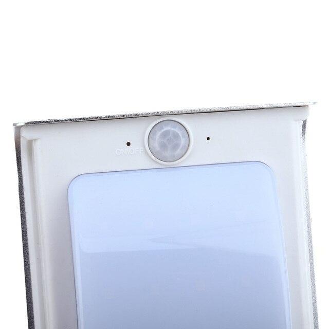 2PCS 16 LEDs Waterproof Solar Wall Lamp  3