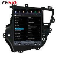 ZWNVA Тесла ips Экран Android 6,0 автомобиль без dvd плеер радио gps навигации для KIA Optima KIA K5 2010 2012 2013 левый руль