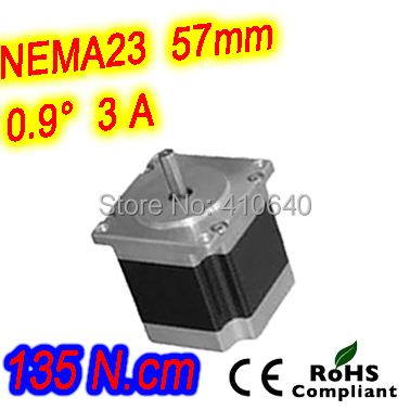 6 pieces per lot  high torque step motor 23HM30-3006S  L 76 mm Nema 23 with 0.9 deg  3 A  135 N.cm and  unipolar 6 lead wires dac715ul 16bit unipolar 28soic dac715u 715 dac71 715u dac7 715ul