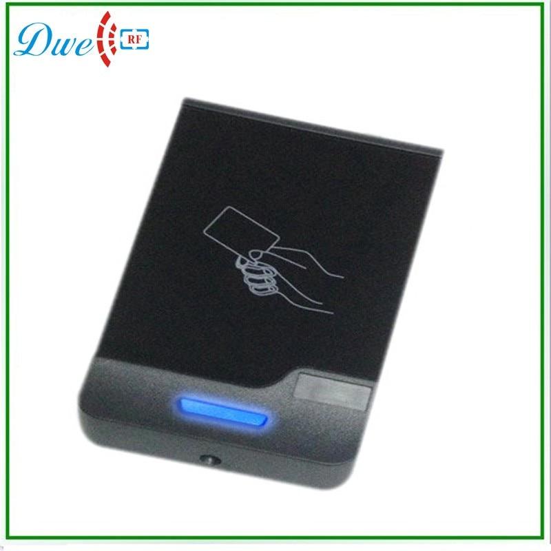 DWE CC RF Access Door Control Wiegand26 Input13.56MHz RFID Proximity Card Reader dwe cc rf rfid card reader metal case waterproof ip68 125khz emid or 13 56mhz mf wiegand 26 for access control system 002o