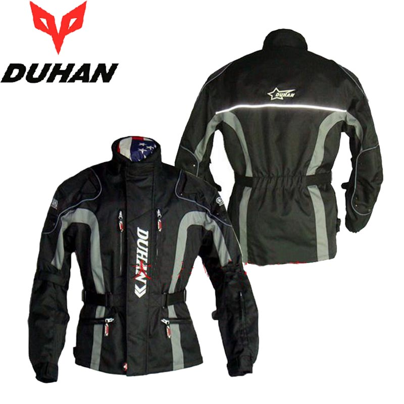 DUHAN motor Racing  Motorcycle riding suit jacket Off-road motorbike jackets Autumn winter clothe coat Wind thicker windproof 2013 new style red mens motorcycle jacket motorbike riding jacket suit with size s to xxxl free shipping