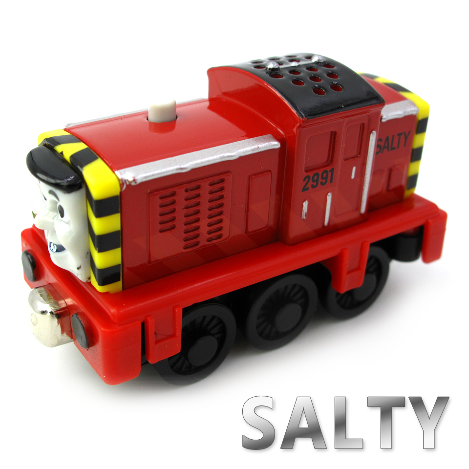 Diecasts Vehicles Thomas T117D SALTY Thomas And Friends Magnetic Tomas Truck Car Locomotive Engine Railway Train Toys for Boys