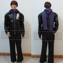 adult halloween costumes for men tokyo ghoul Kirishima Ayato cosplay Costume anime clothes for men Leather