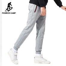 Acampamento pioneiro Nova engrossar quentes sweatpants homens marca-inverno casuais roupas de lã calça casual masculino qualidade 100% algodão AWK702321