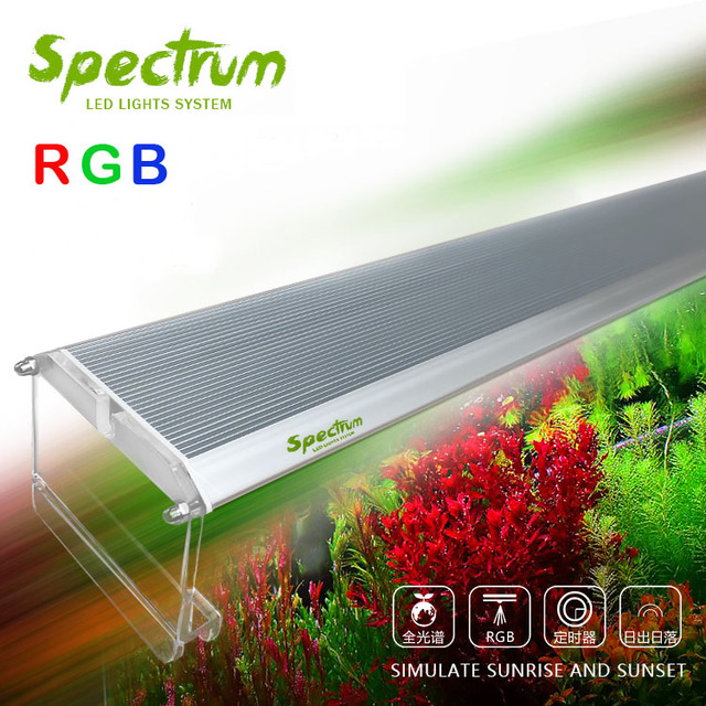 RGB Water Plant grow LED light ADA style sunrise sunset aquarium water plant fish tank new arrived!