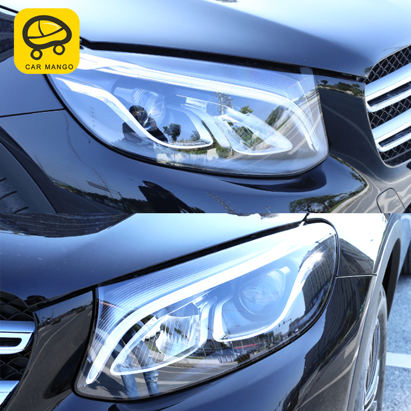 CarManGo For Mercedes Benz 2018 GLC Auto Car styling Headlight protective film TPU transparent film