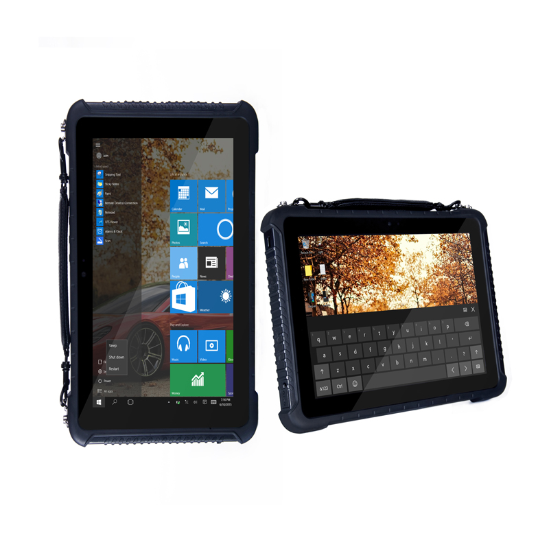 10 Inch Visible Under The Sun H1920 V1200 RAM 8GB ROM Windows 10 Pro Rugged Tablet Industrial  ST16K