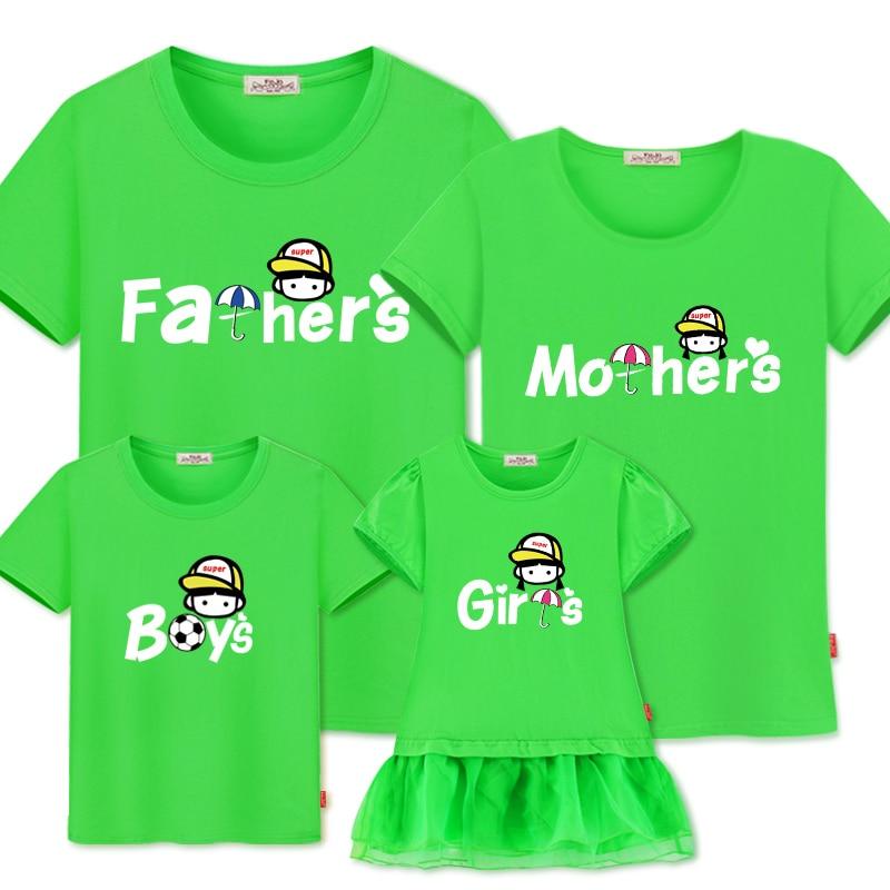 Сім'ї відповідний одяг новий літній - Дитячий одяг - фото 5