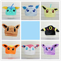 Eeveelution Sylveon Umbreon Eevee Espeon Jolteon Vaporeon Flareon Glaceon Leafeon Plush Hat Free Shipping