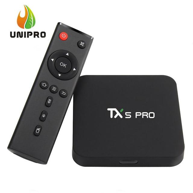 Tanix TX5 Pro Android 6.0 Marshmallow TV BOX Amlogic S905X 4K 2G/16G 802.11AC WIFI LAN Media Player