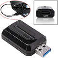 "USB 3.0 to SATA External Adapter Converter Bridge for 2.5"" 3.5"" Hard Disk Drive"