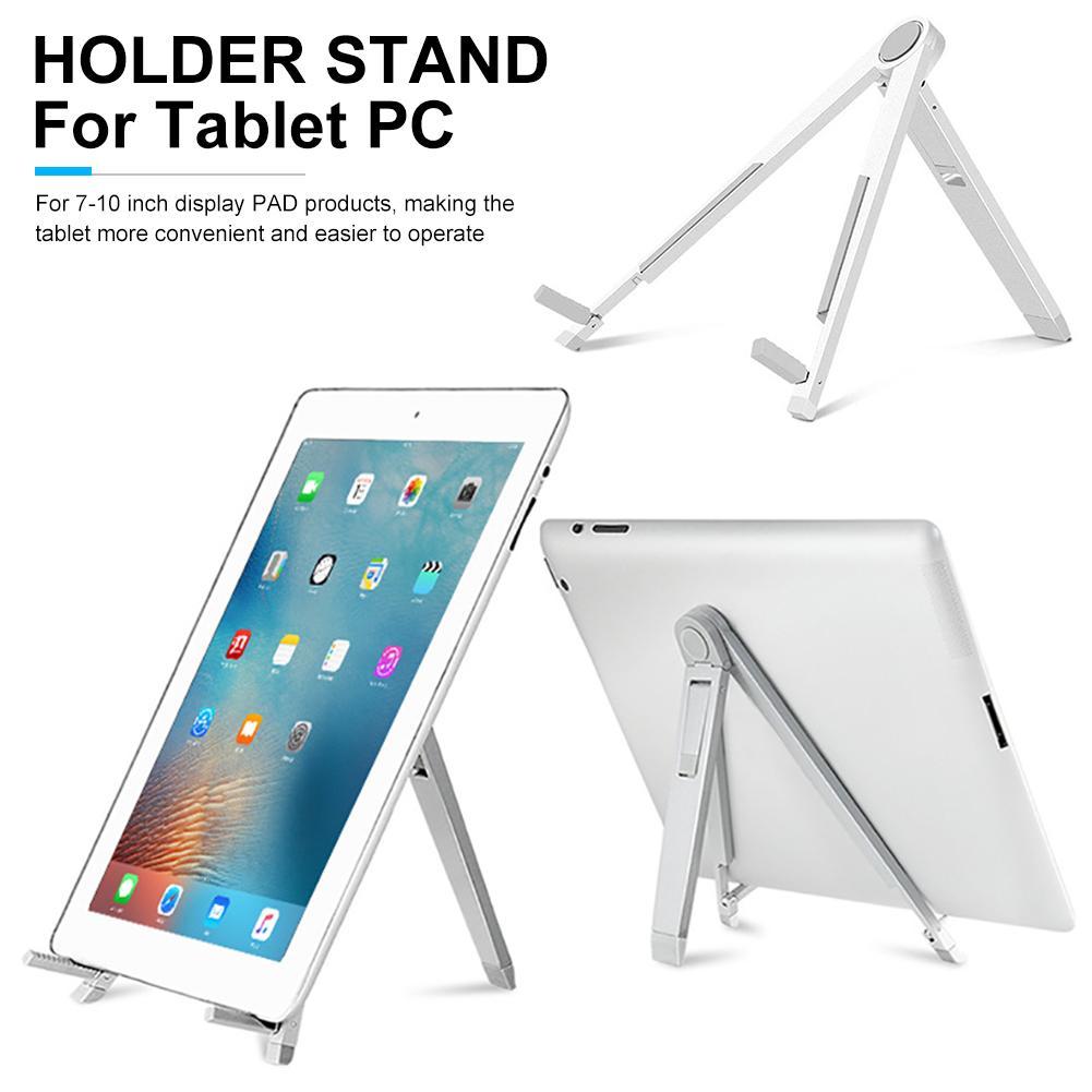 Adjustable Tripod Anti-Slip Tablet PC Stand Aluminum Alloy Holder for iPad 2018 Air Pro Mipad 4