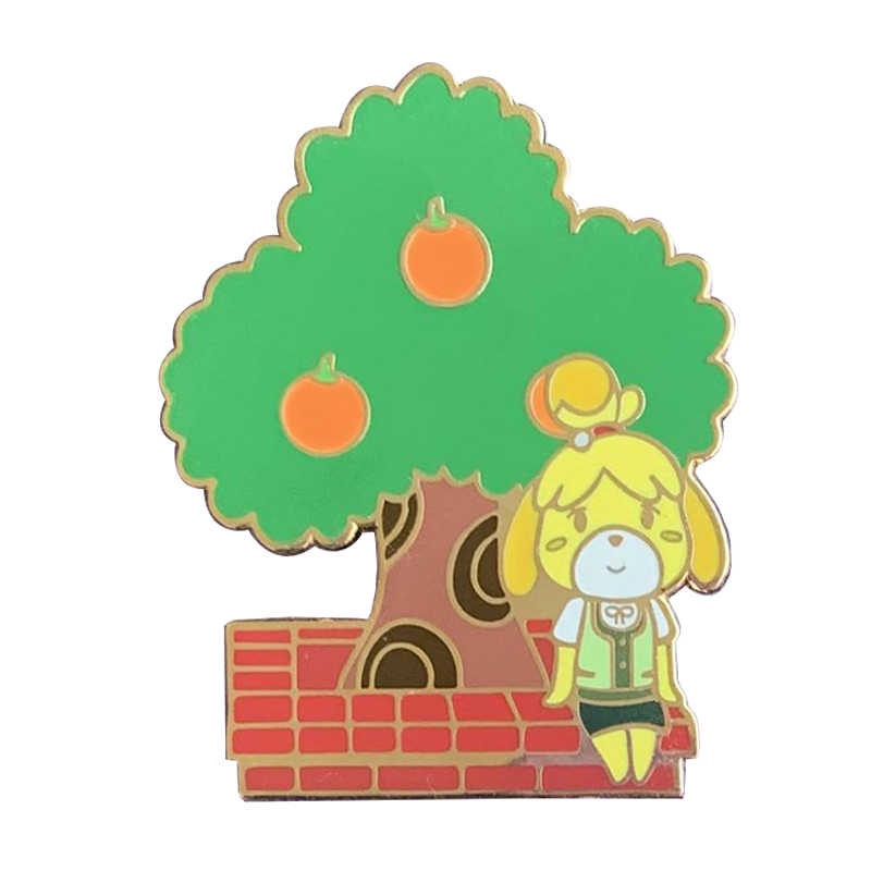 Isabelle Animal Crossing Pin