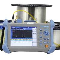 Одномодовый 1310/1550nm 32/30 дБ Встроенный VFL оптический временной домен рефлектометр Оптическое волокно OTDR 120 км