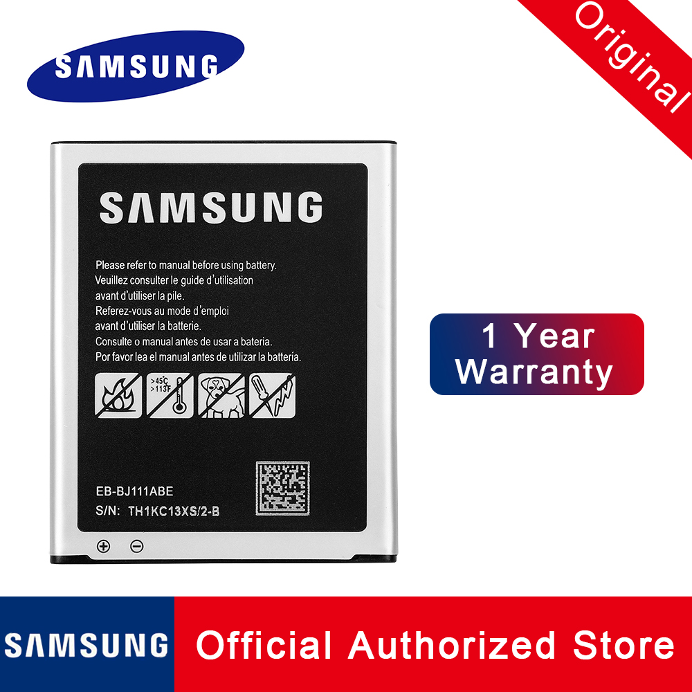 100% Original <font><b>Samsung</b></font> Replacement <font><b>Battery</b></font> EB-BJ111ABE For <font><b>Samsung</b></font> Galaxy <font><b>J1</b></font> <font><b>Ace</b></font> 3G Duos Phone batteria akku 1800MAH+tracking no image