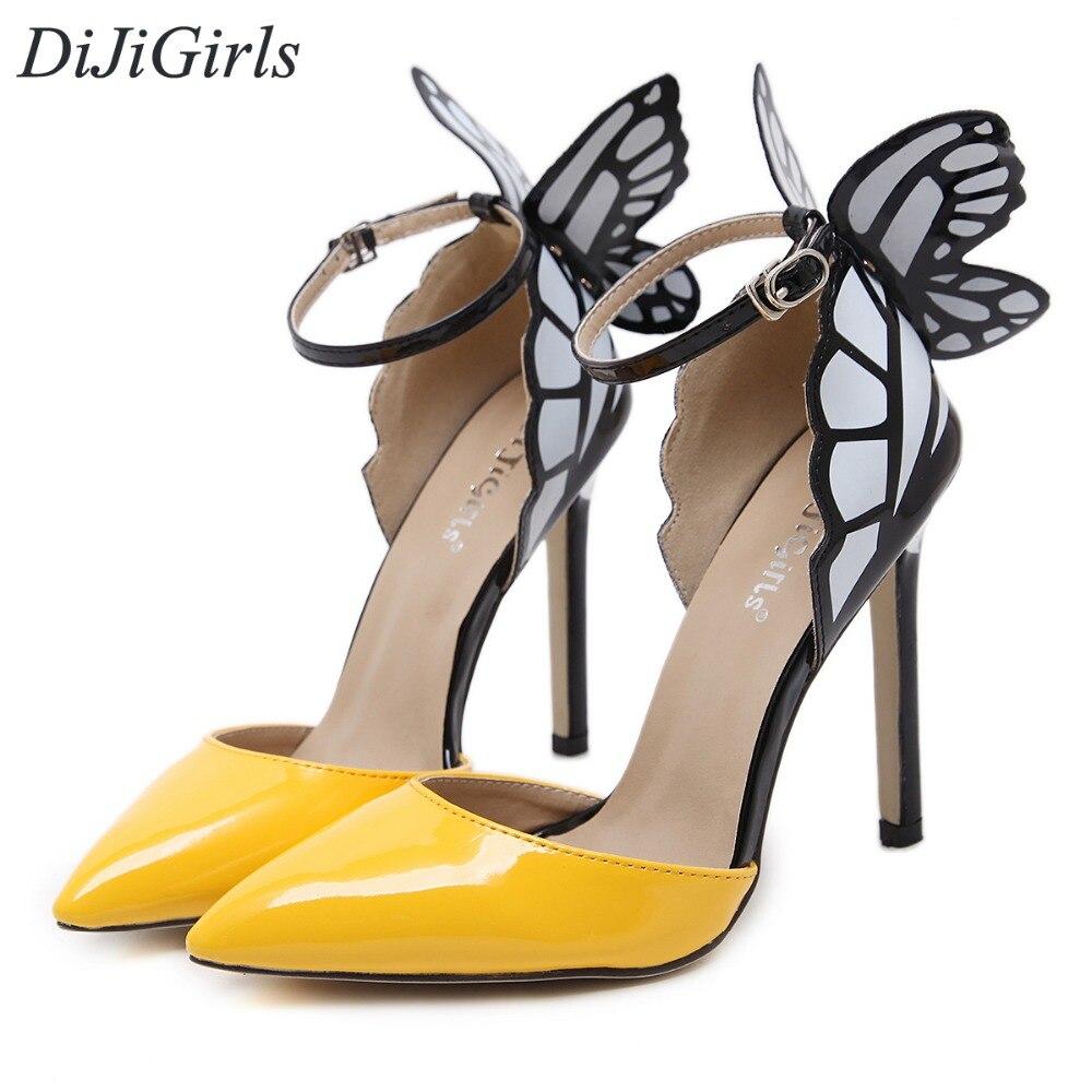 DiJiGirls New style women s high heels shoe Strappy Buckle Stiletto sexy high heeled sandals ladies