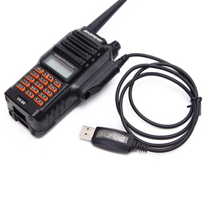 Image 3 - 8W powerful two way radio 9R waterproof IP 67 136 174mhz 400 520mhz VHF UHF ham radio 10km whole sale price